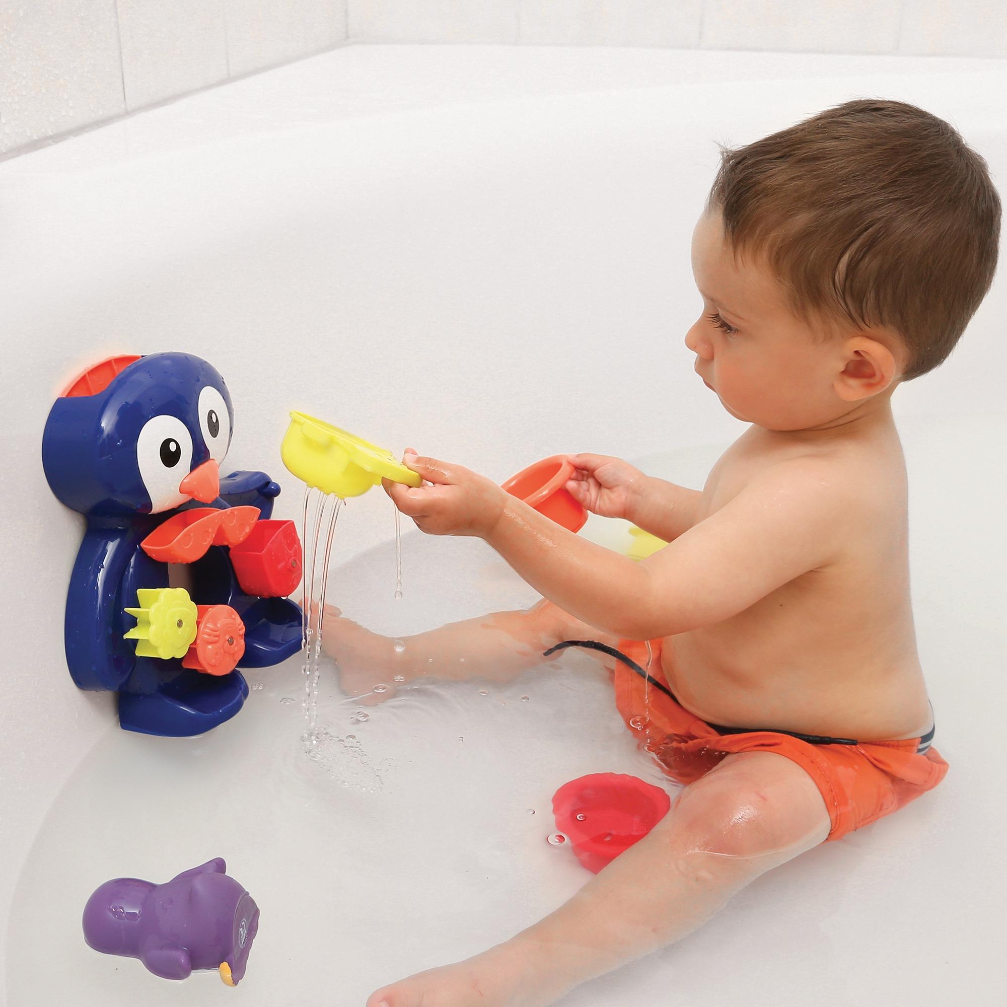 Penguin bath set
