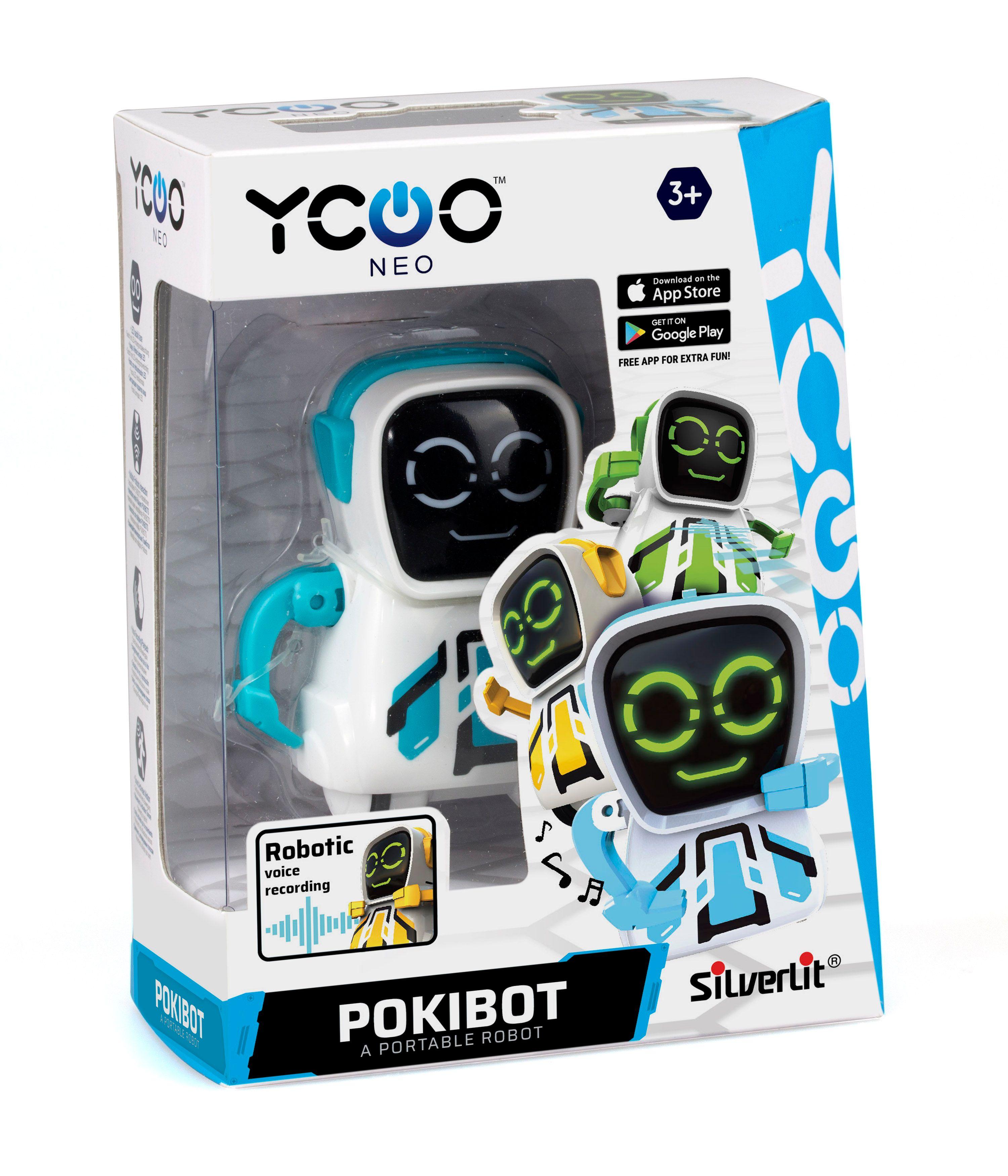 Pokibot Rund Robot - Blå