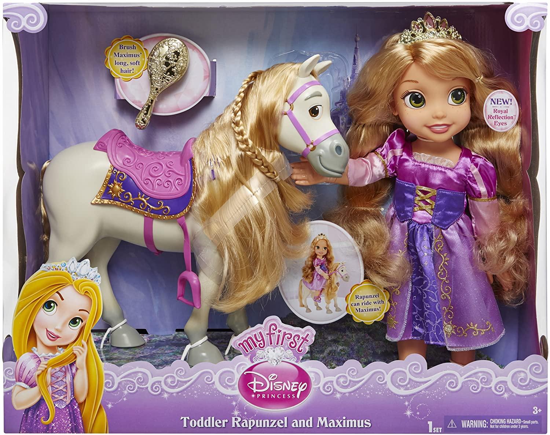 Rapunzel & Maximus