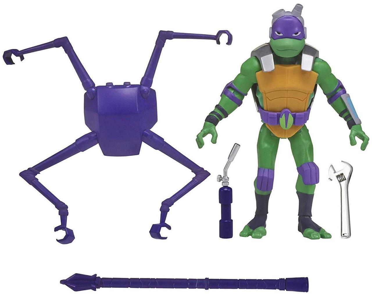 Rise of the Teenage Mutant Ninja Turtles - Battle Shell Action Figure - Donatello
