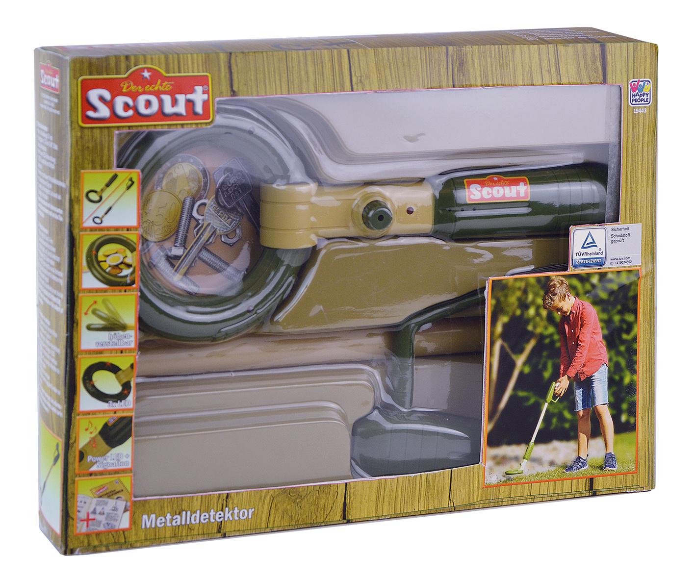 Scout - Metaldetektor