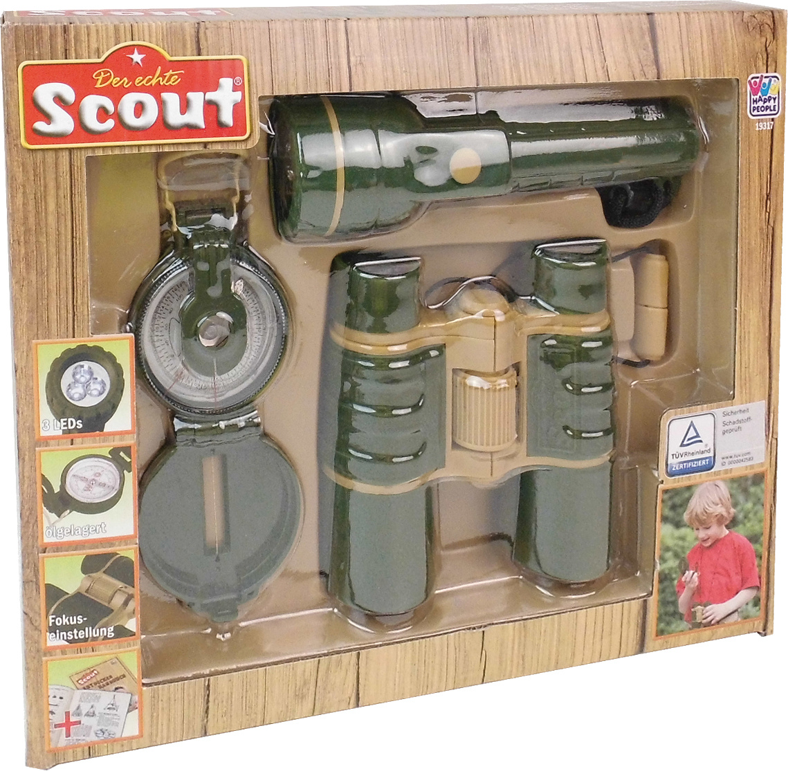 Scout - Opdagelses sæt