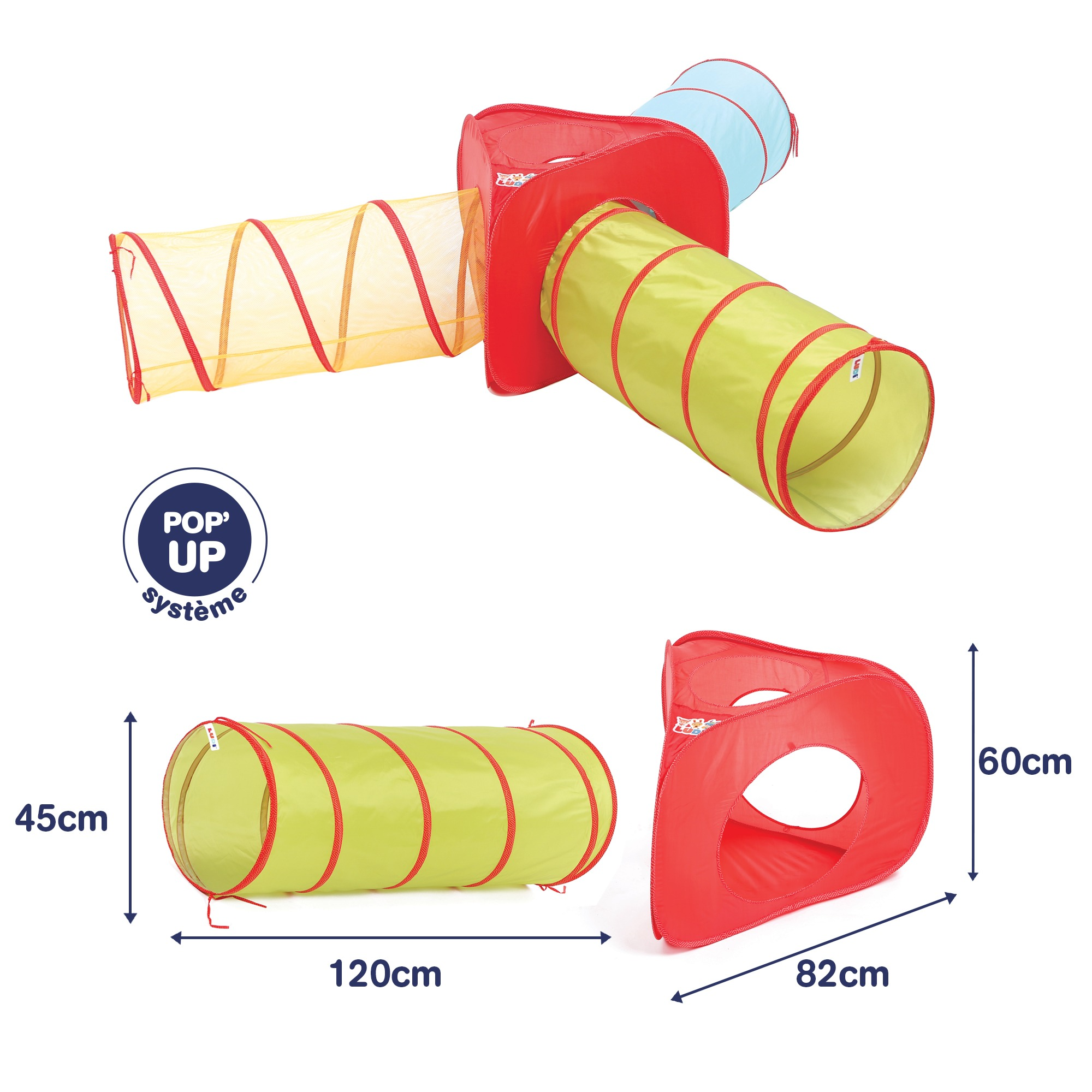 Set of 3 Tunnels