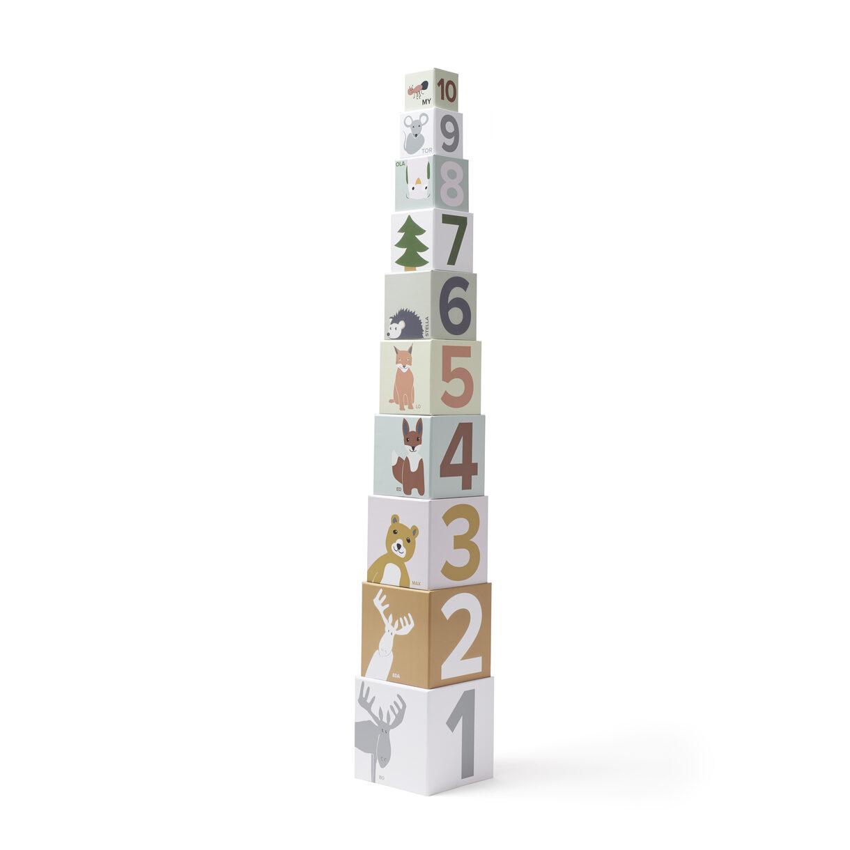 Stabletårn i Papir 1-10 - Edvin