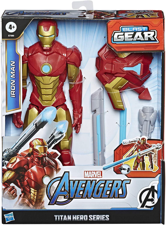 Titan Hero - Blast Gear Iron Man - 30 cm
