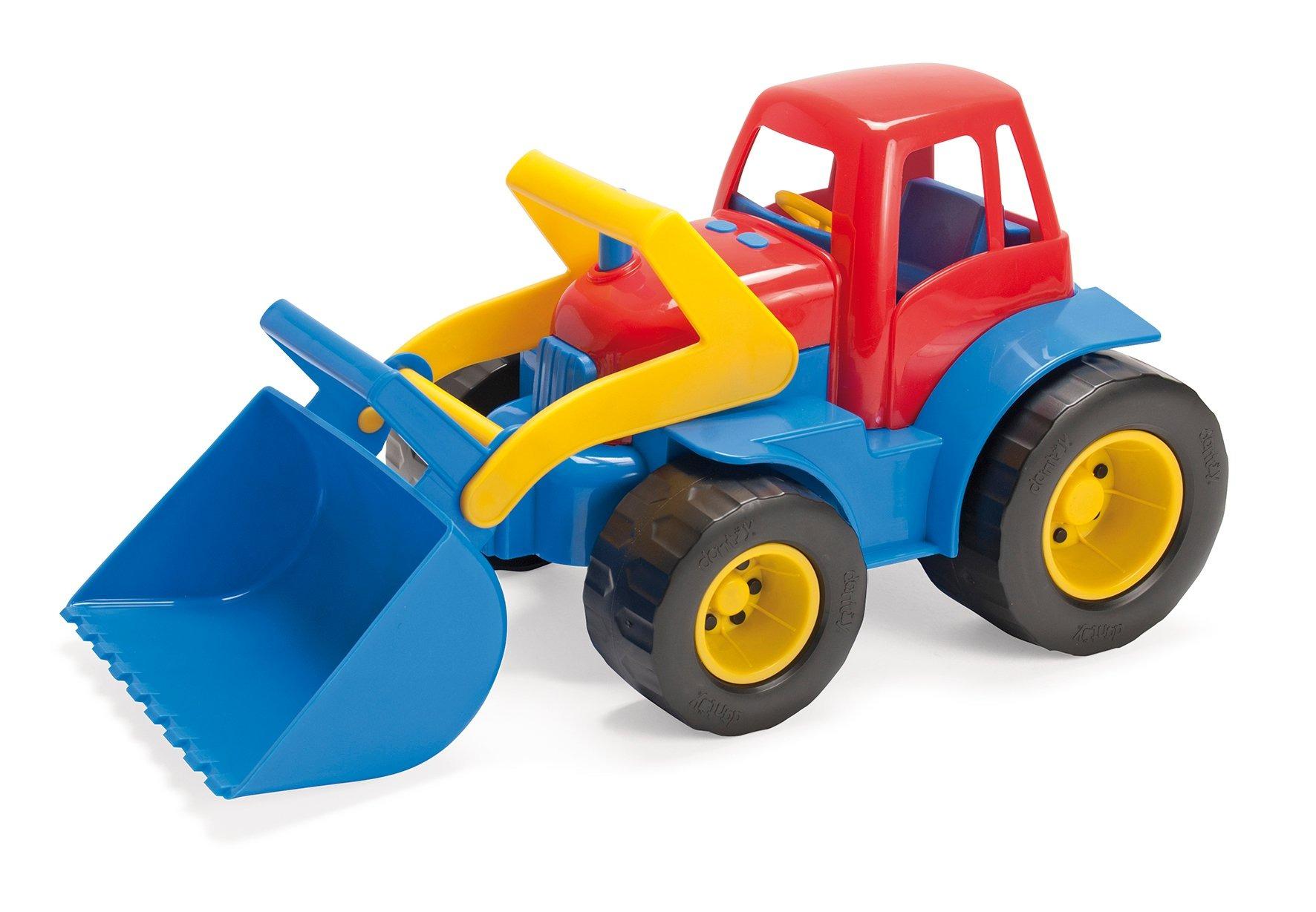 Traktor med Plastik Hjul (2129