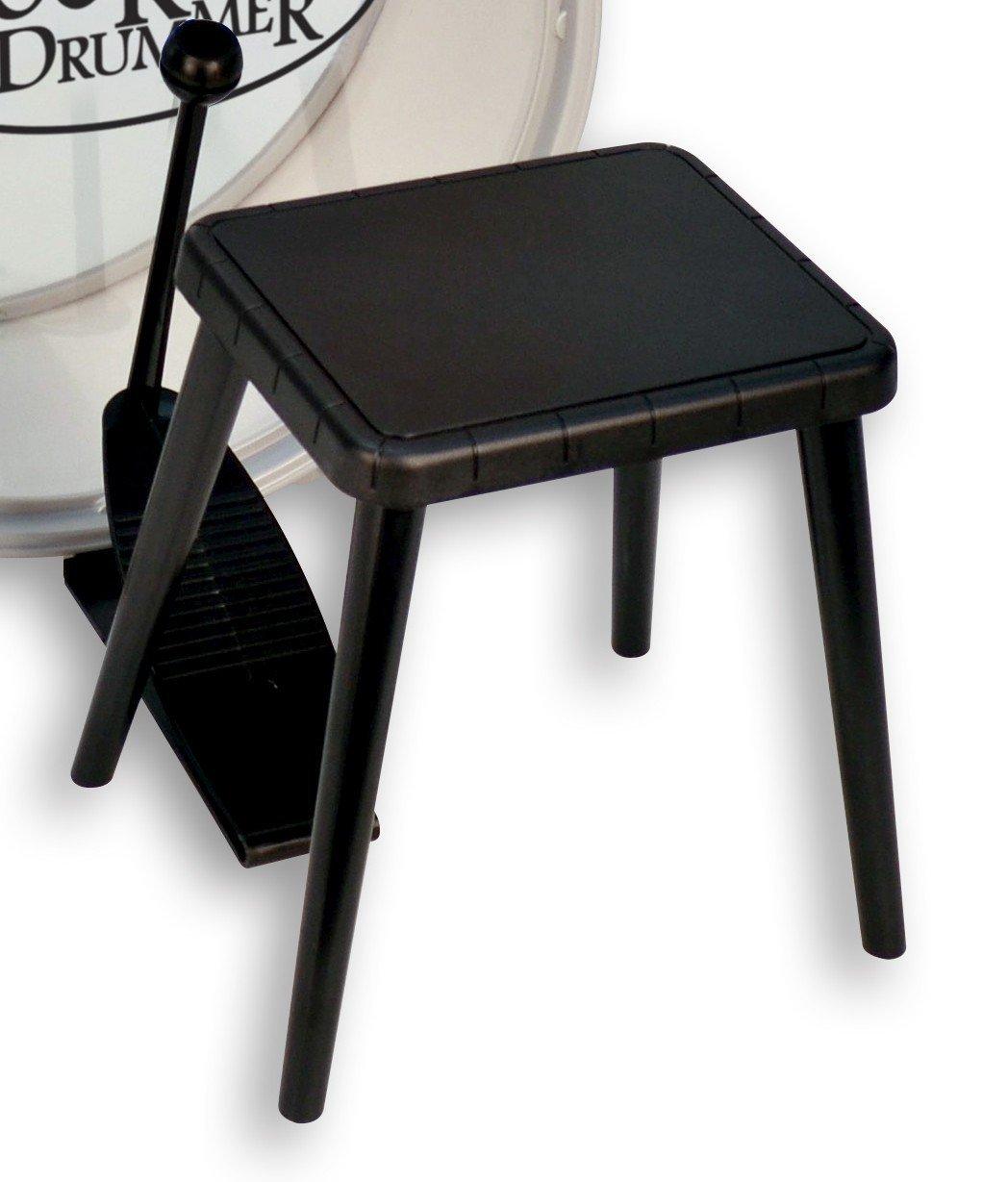 Trommesæt med stol