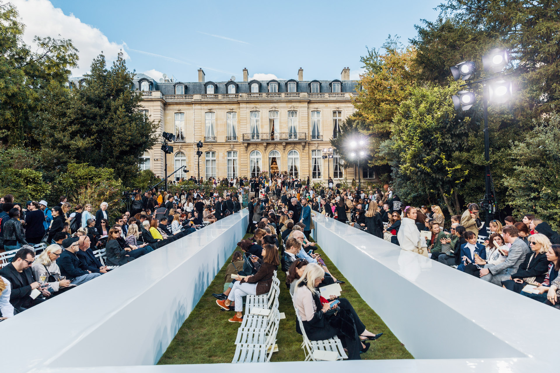 paris fashion week · ambassade d'italie