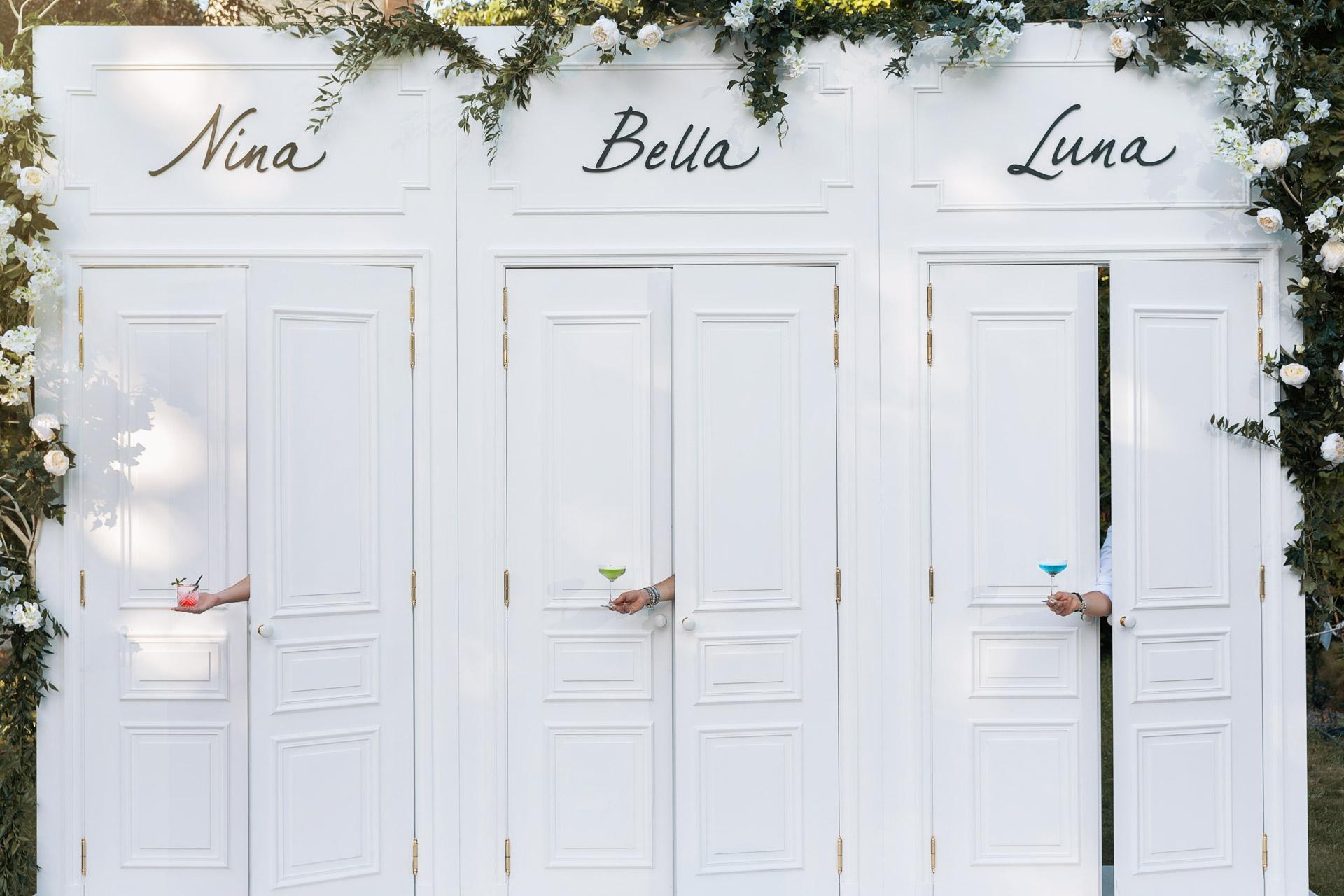 lancement nouveau parfum bella · paris