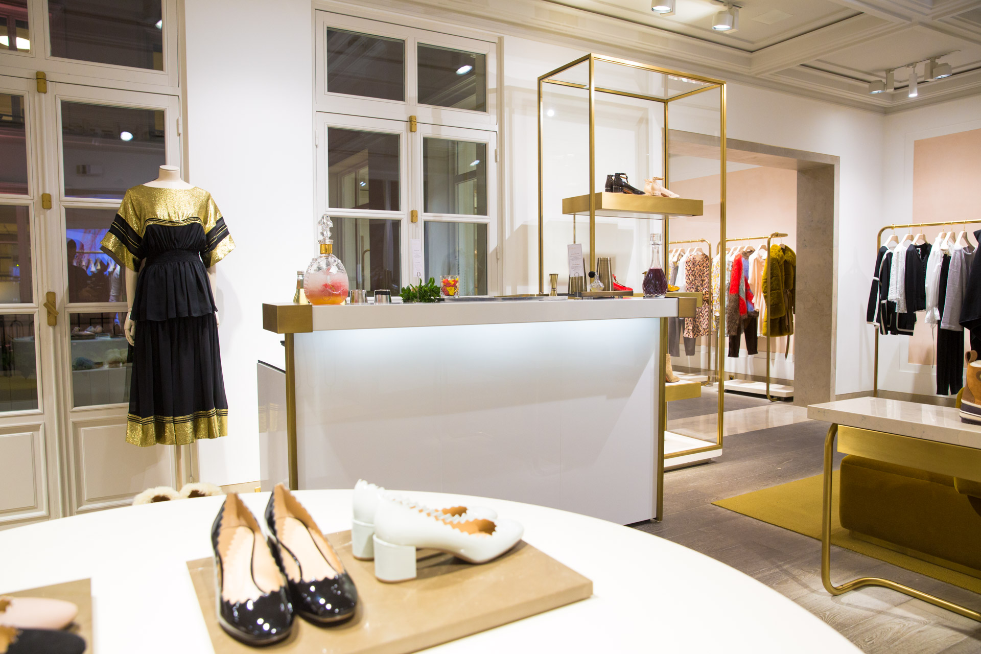 prestation haute couture · rue saint - honoré