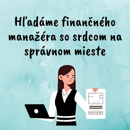 Hľadáme finančného manažéra