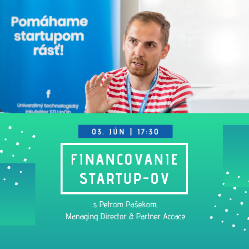 Financovanie startup-ov s Accace