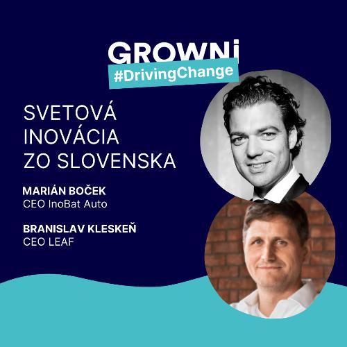 GROWNi #DrivingChange: Svetová inovácia zo Slovenska