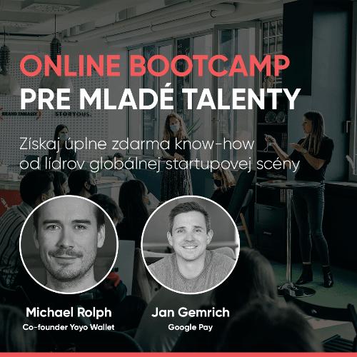 Bootcamp pre mladé talenty a budúcich lídrov!