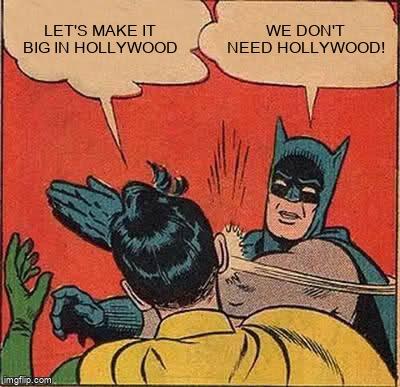 Robin says to Batman,