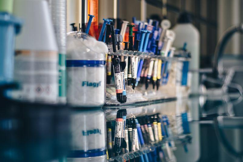vial samples