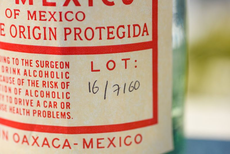 A food label for a Mexican product