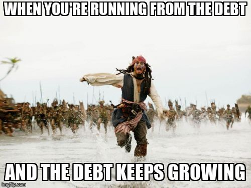Jack Sparrow Being Chased