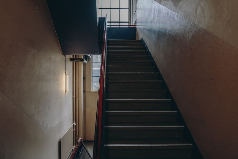 Photo of a staircase