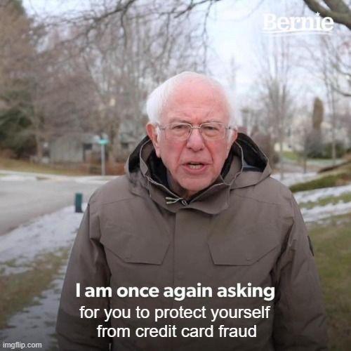 Bernie Sanders saying,