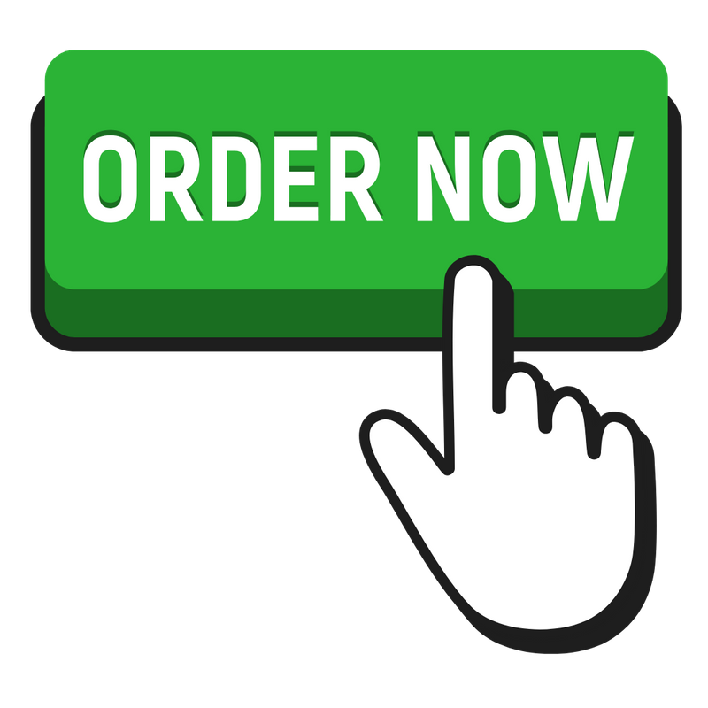 Green button that says Order Now with hand clicking on it.