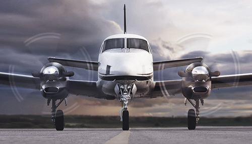 Beechcraft King Air C90 series : Familiarização