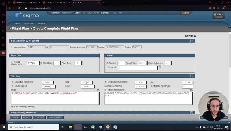 Planejamento de voos internacionais para aviação executiva