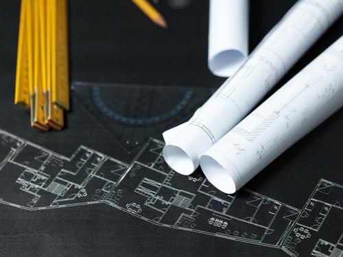 Apresentação de projetos de arquitetura para clientes