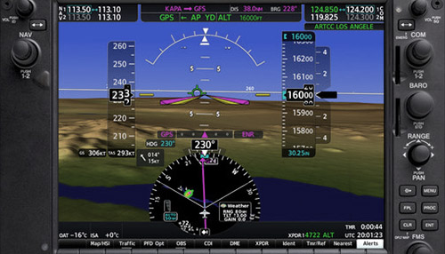 Garmin G1000: Primary Flight Display (PFD)