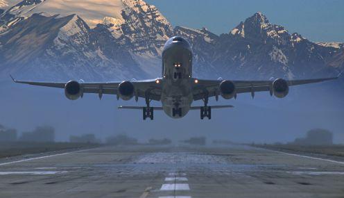 Performance de aeronaves a jato: Distâncias de decolagem