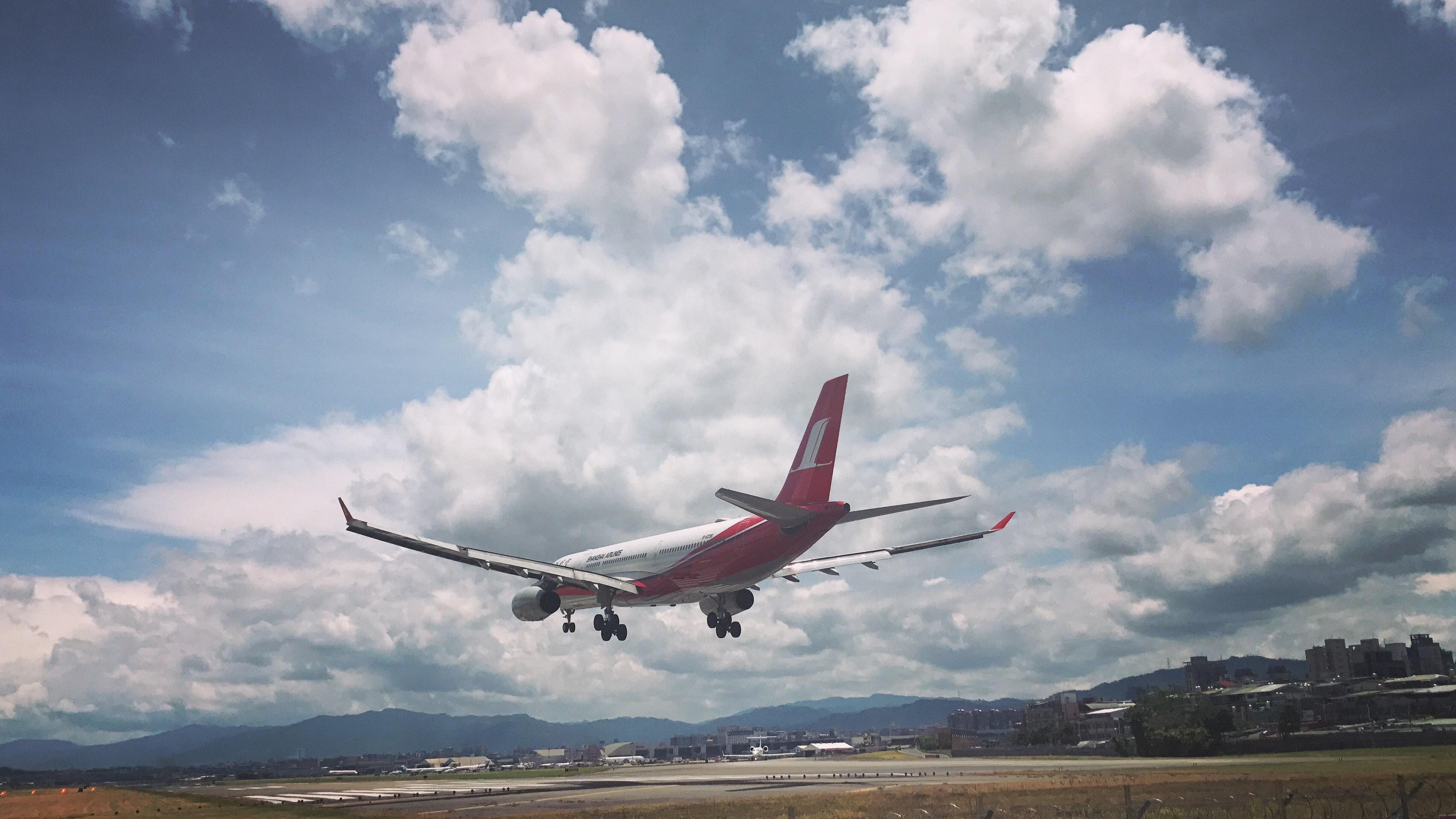 Performance de aeronaves a jato: Pouso