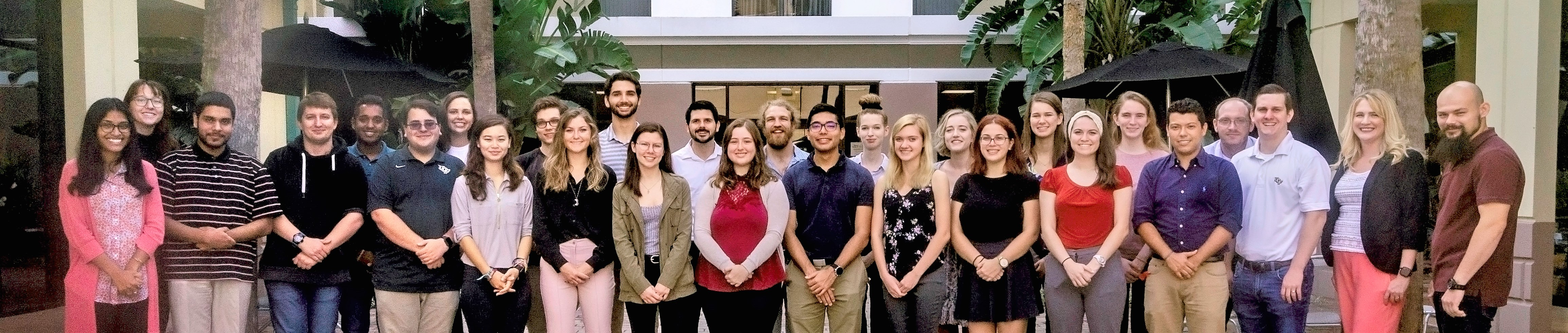Group picture of Limbitless Solutions Spring 2019 Interns