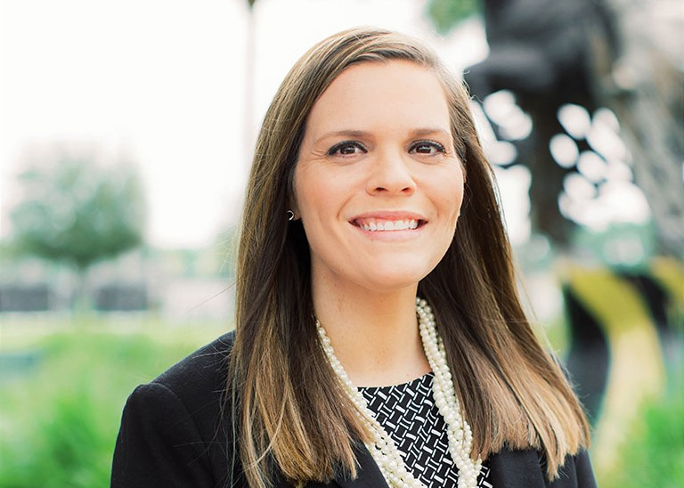Advancement Director Jacey Poppell