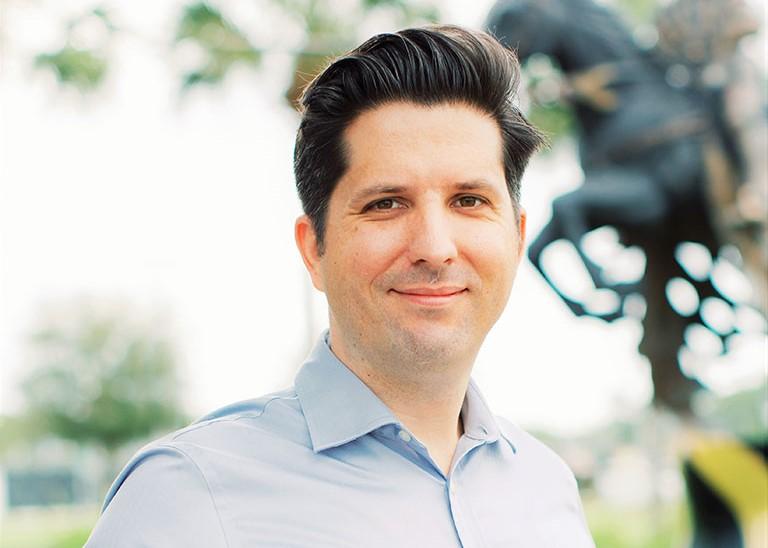 School of Visual Arts and Design Professor Matt Dombrowski