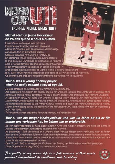 Trophee Michel BREISTROFF
