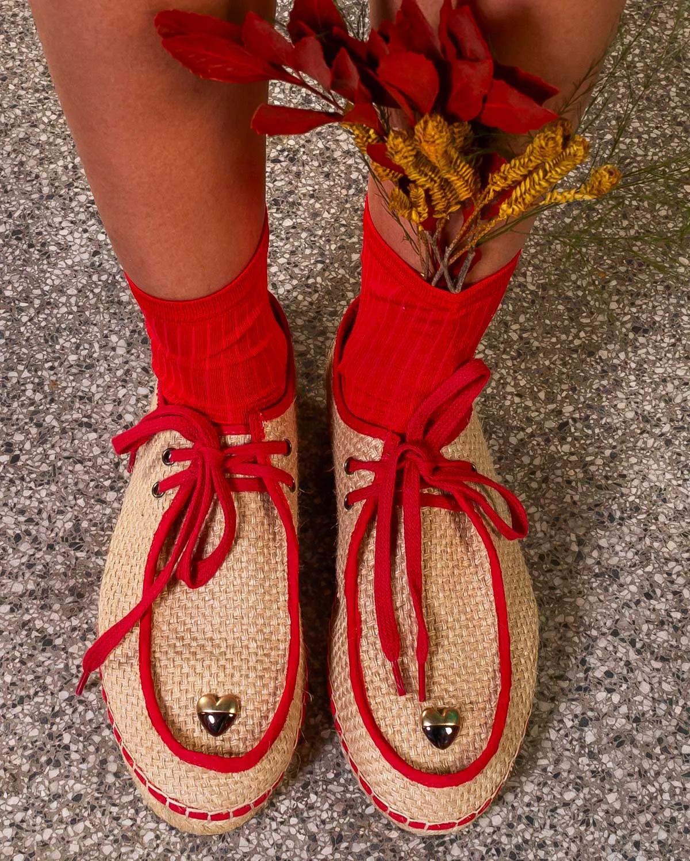 Reggy Shoe Heartbreaker Bege Vanilla