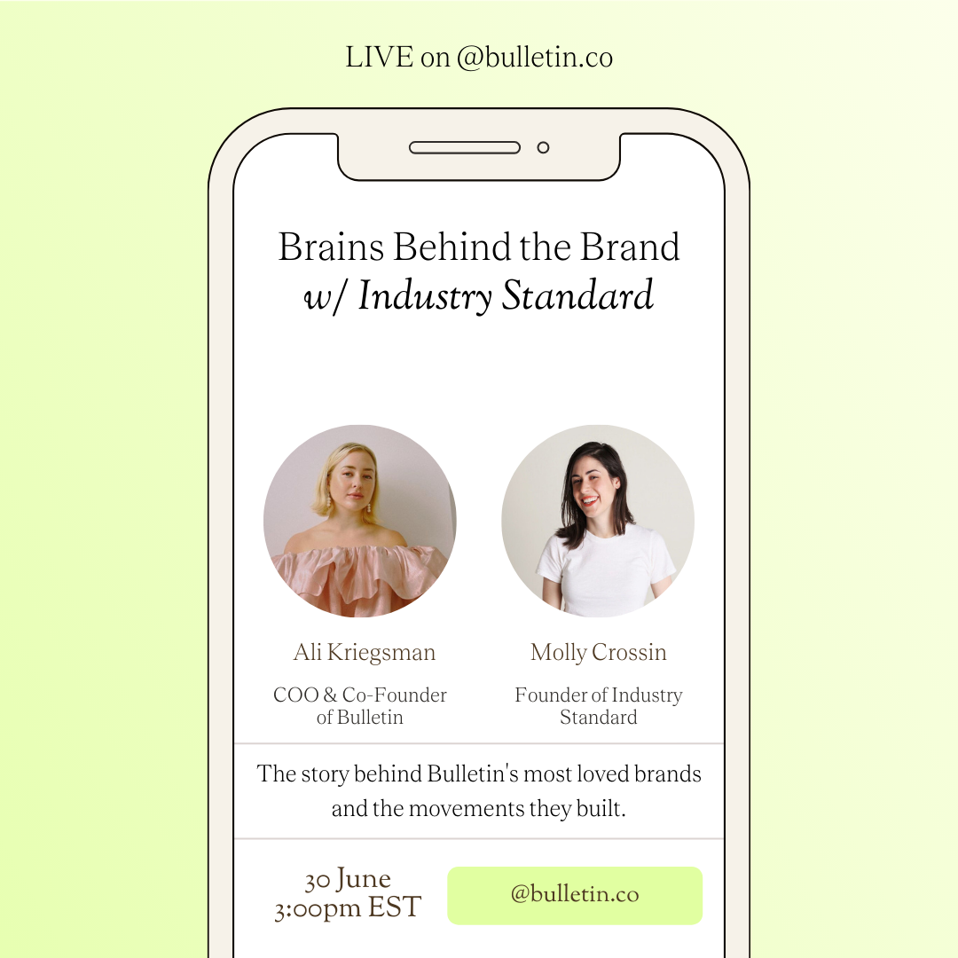 Brains Behind the Brand with @industrystandardny