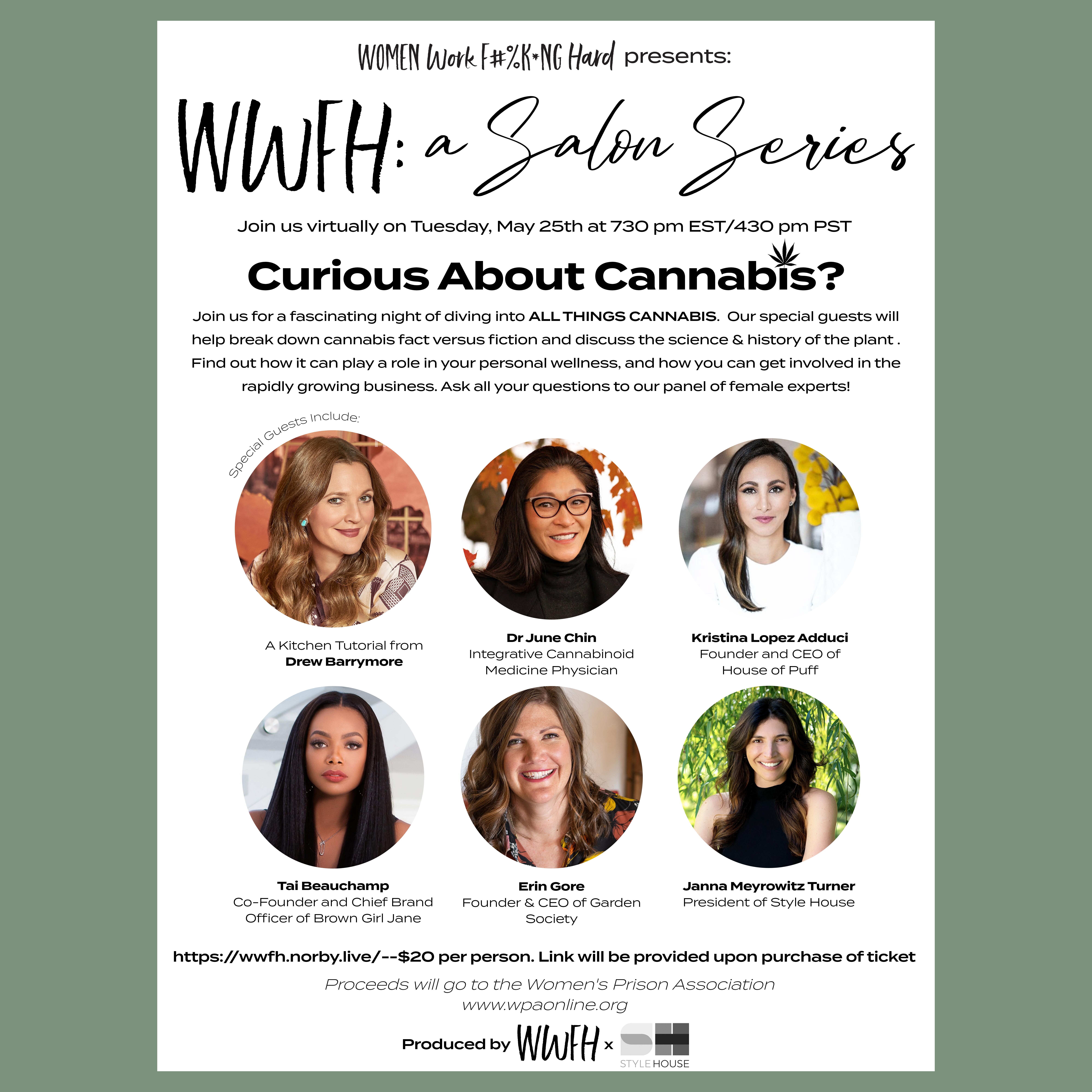 WWFH: A Salon Series--Curious About Cannabis?