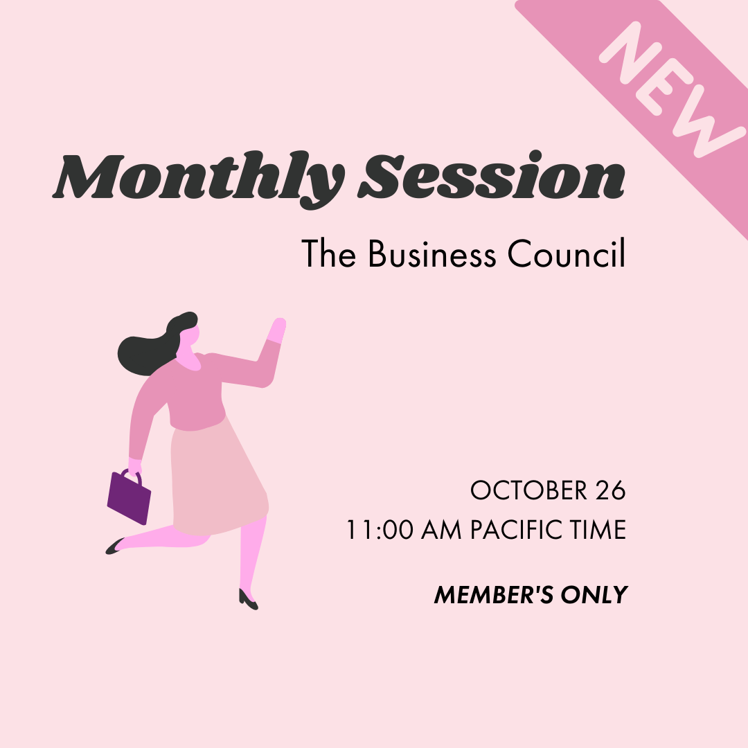 Pink Sesh | Business Council