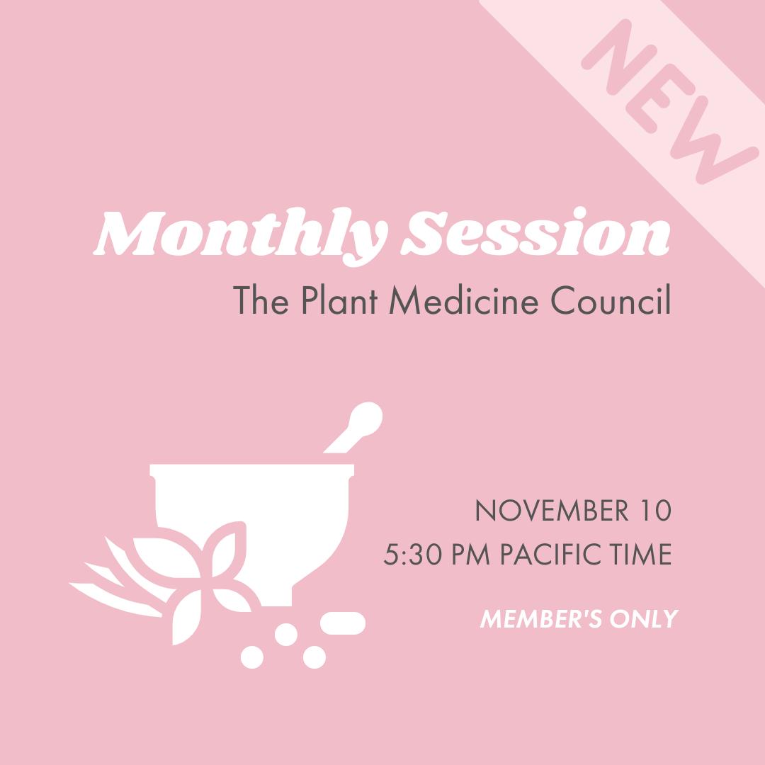 Pink Sesh | Plant Medicine Council