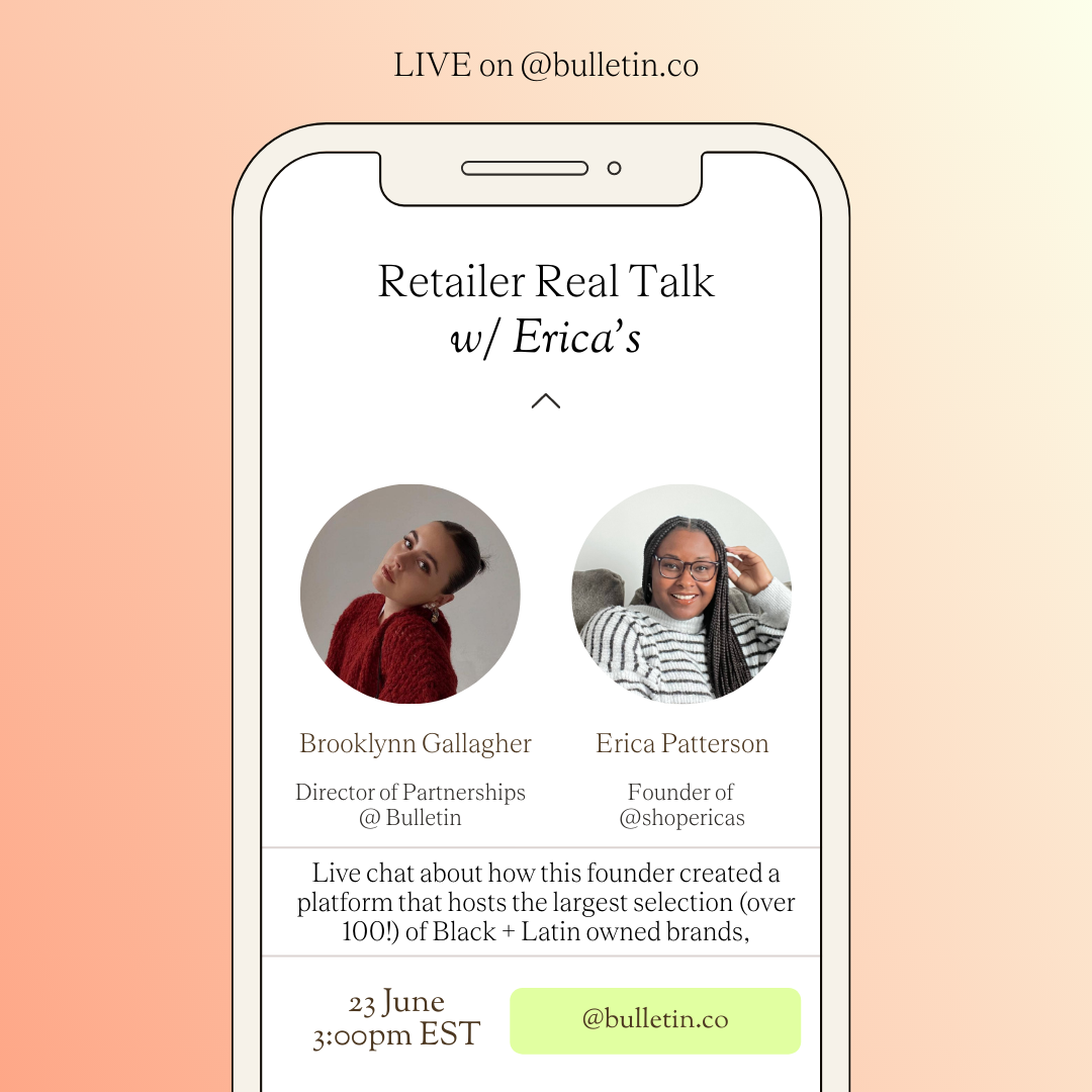 Retailer Real Talk with @shopericas