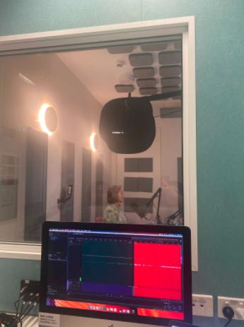 Ita Buttrose in the studio