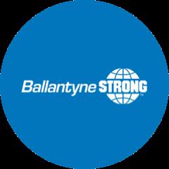 Ballantyne Strong, Inc. logo