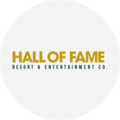 Hall of Fame Resort & Entertainment Co. logo