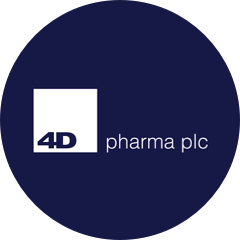 4D Pharma Plc logo