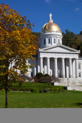 the Vermont capitol building