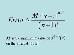 Calculus BC AP Exam Formulas