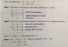 Algebra 1 Formulas