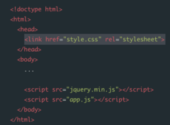HTML and CSS Vocabulary