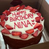 Custom Cake (Red Velvet Base)